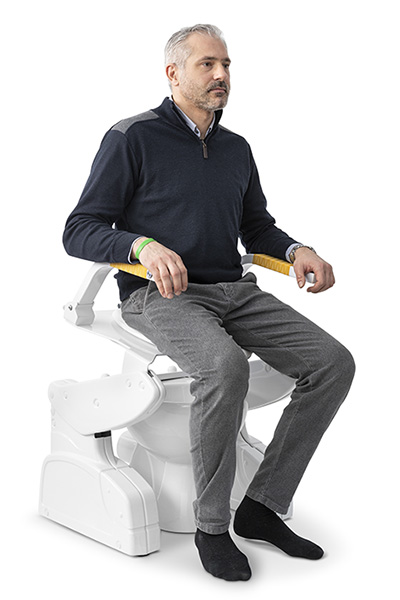 sollevatore per wc regolabile